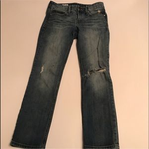 GAP 1969 Real Straight Distressed Jeans Sz 26